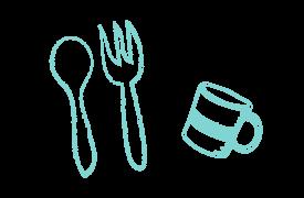 給食について | ハピネス保育園 南境 | 石巻市